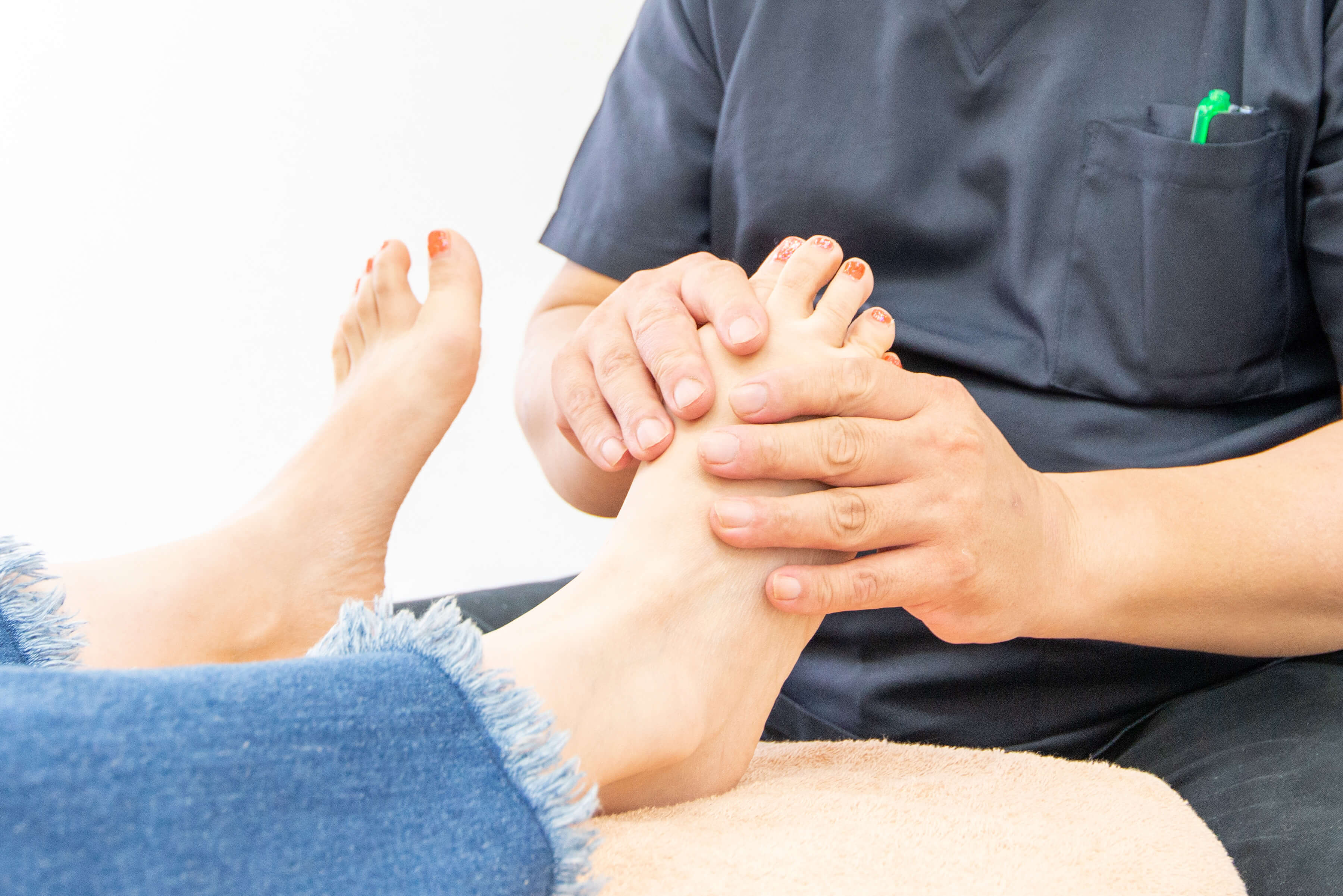 外反母趾治療の専門家